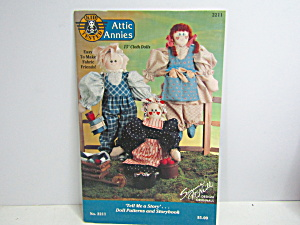 Tell Me A Story Attic Annies Pattern & Storybook