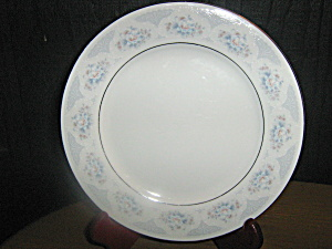 Silverie Fine China Sapphire Dinner Plate