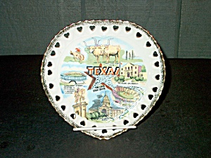 Collector State/souvenir Plate Texas