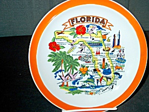Collector State/souvenir Plate Flordia
