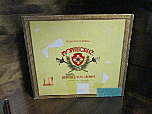 Vintage Montecruz Seleccion Suprema Cigar Box