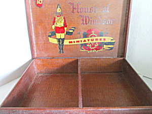 Vintage House Of Windsor Wood Cigar Box