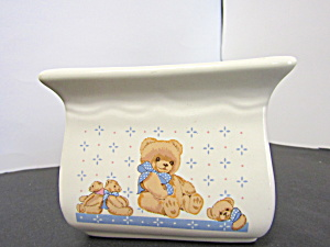 Tienshan Theodore Bear Napkin Holder