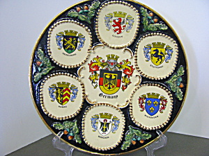 Germany Coat Of Arms Decorative Plate