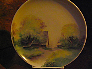 Hand Painted Art Decor Decorator Plate