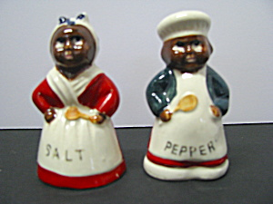 Mammy & Pappy Baking Chef Salt &pepper Shakers