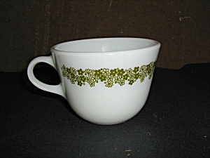 Pyrex Spring Blossom Green 8oz. Coffee Cup
