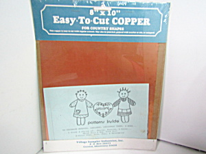 Village Sampler Industries Easy-to-cut Copper