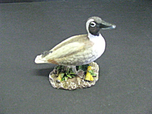 Vintage Wildlife Small Figurine Mallard Duck