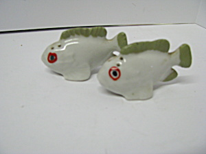 Vintage Fish From The Sea Salt & Pepper Shakers
