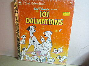 Little Golden Book Disney's 101 Dalmatians