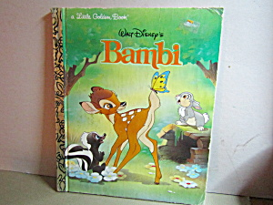 Little Golden Book Disney's Bambi