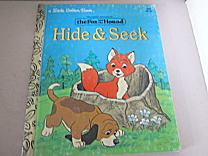 A Little Golden Book Disney's Hide And Seek