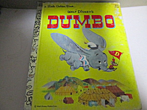 Little Golden Book Disney's Dumbo