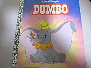 Little Golden Book Walt Disney's Dumbo