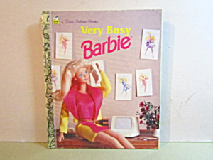 A Little Golden Book Very Busy Barbie