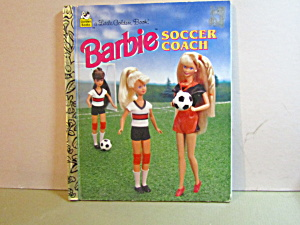 A Little Golden Book Barbie Soccer Coach