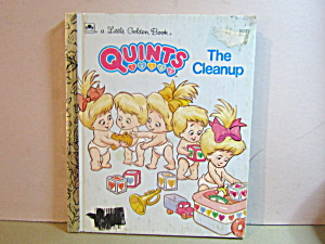 Little Golden Book Quints The Clean Up