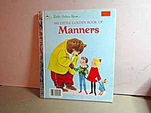 My Little Golden Book Of Manners