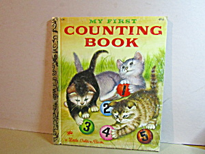 Vintage Little Golden Book First Counting Book