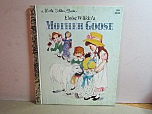 Vintage Little Golden Book Eloise Wilkin's Mother Goose