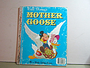 Little Golden Book Walt Disney's Mother Goose