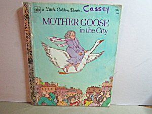Little Golden Book Mother Goose In The City