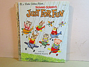 Little Golen Book Richard Scarry's Just For Fun