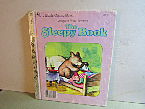 Vintage Little Golden Book The Sleepy Book