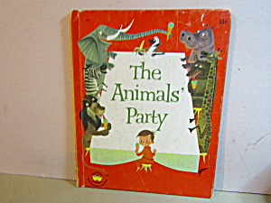 Wonder Book The Animals' Party