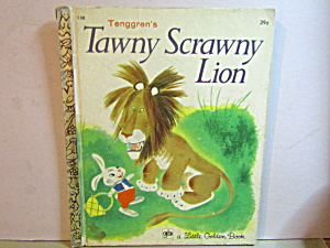 Little Golden Book Tenggren's Tawny Scrawny Lion