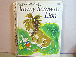Little Golden Book Tawny Scrawny Lion