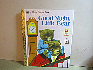 Vintage Little Golden Book Good Night Little Bear