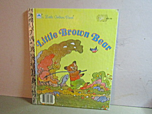 Vintage Little Golden Book Little Brown Bear