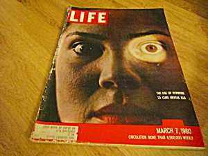 Vintage Life Magazine March 7,1960
