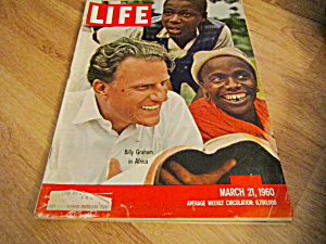 Vintage Life Magazine March 21,1960