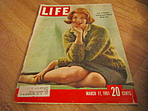 Vintage Life Magazine March 17,1961