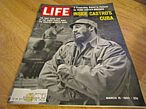 Vintage Life Magazine March 15,1963