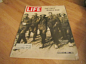 Vintage Life Magazine March 13,1964