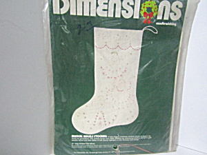 Dimensions Candlewicking Musical Angles Stocking Kit