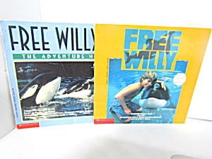 Vintage Scholastic Two Book Set Free Willy