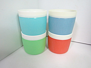 Vintage Bolero Thermal Insulated Therm-o-ware Cups