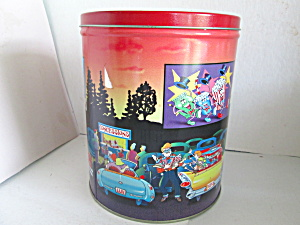 Vintrage Trail's End Gourmet Popcorn Tin
