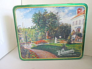 Vintage Collector Tin Whitman's Candies