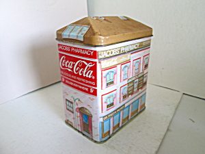 Jacobs' Pharmacy Coca-cola Tin