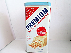 Premium Saltine Crackers Tin