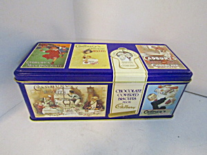 Vintage Cadbury Chocolate Biscuits Fingers Cookie Tin