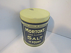 Vintage Morton's Salt When It Rains It Pours Tin
