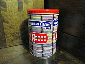 Vintage American Classic Necco Wafer Tin