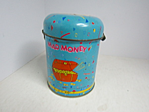 Giftco Inc Mad Money Tin Bank